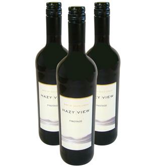 Hazy View Pinotage red wine